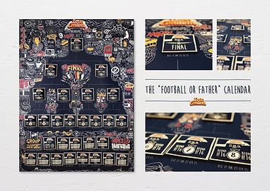 #FootballorFather Calendar - Love Condom®
