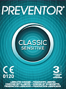Preventor Classic, a ultra thin lubricated condom with vanilla fragrance.