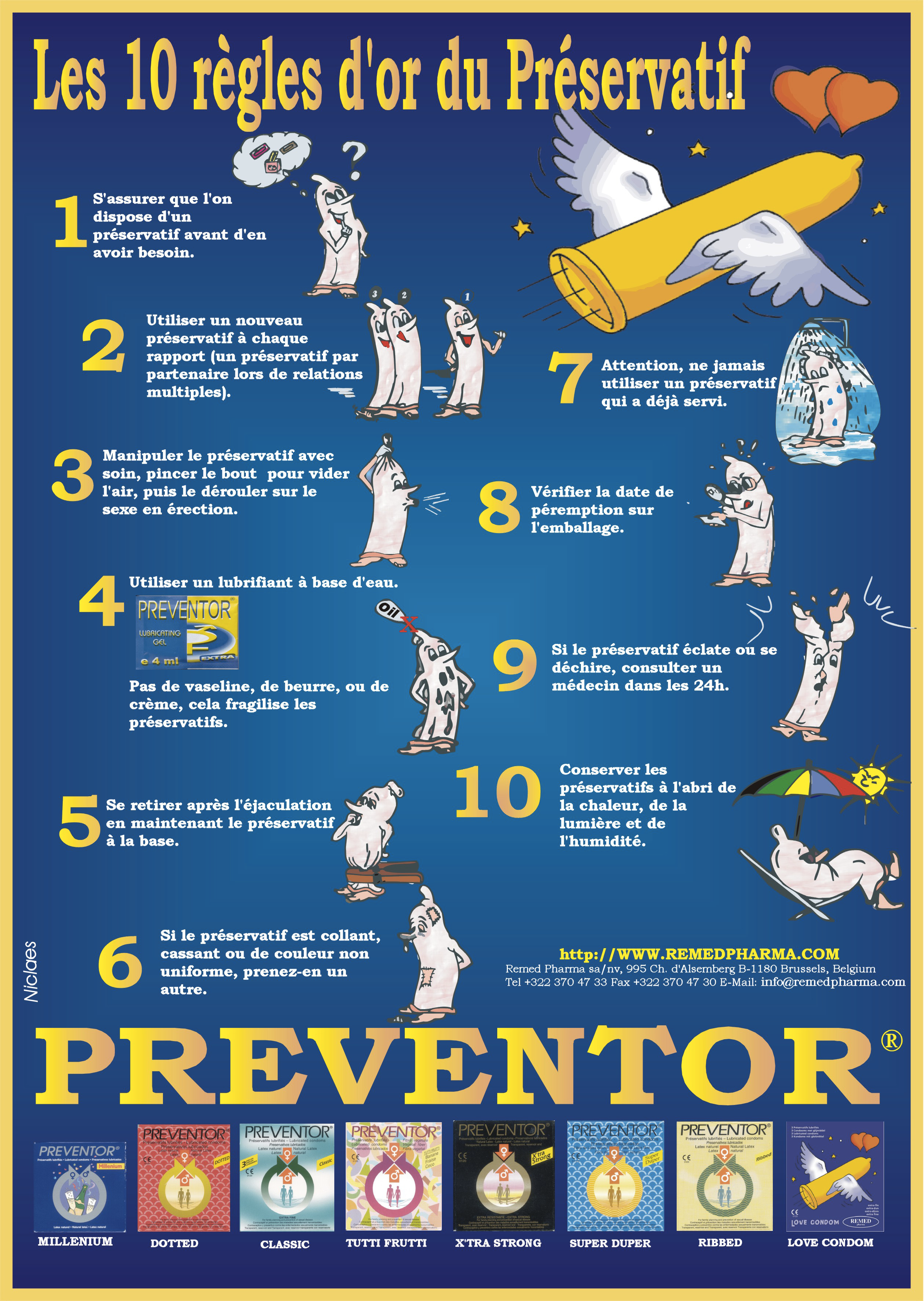 Preventor® - Les 10 règles d'or