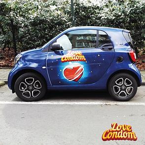 Love Condom - coche