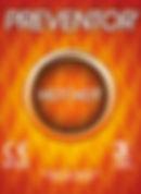 Preventor Hot Hot, un preservativo lubricado con lubricante especial que proporciona una sensación de calor.