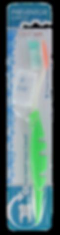 Preventor Oral Care Comfort, une brosse à dents haut de gamme pour un brossage optimal.