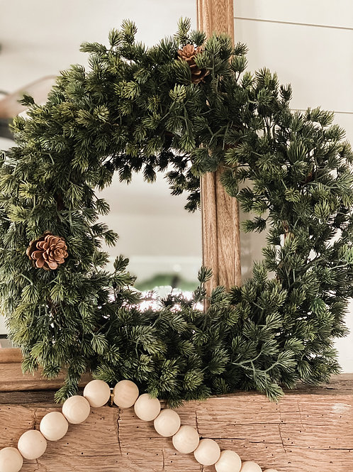 Chimney Pine Wreath