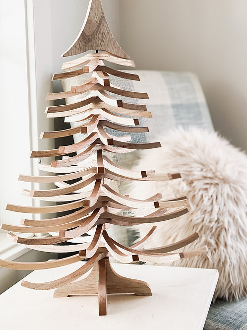 Wooden Swivel Tree