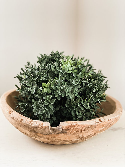 New England Boxwood Pouf