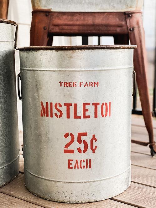 Mistletoe Bucket