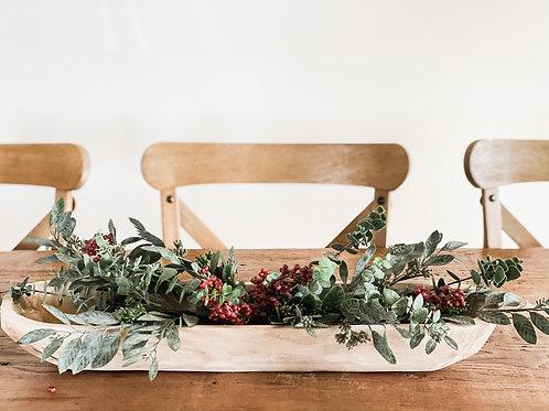 Paulownia Long Wood Bowl