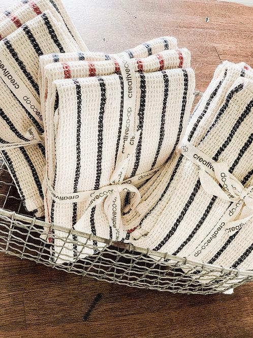 Waffle Knit Towel Set