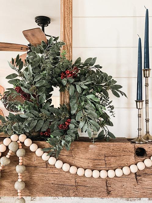 Eucalyptus & Berry Wreath