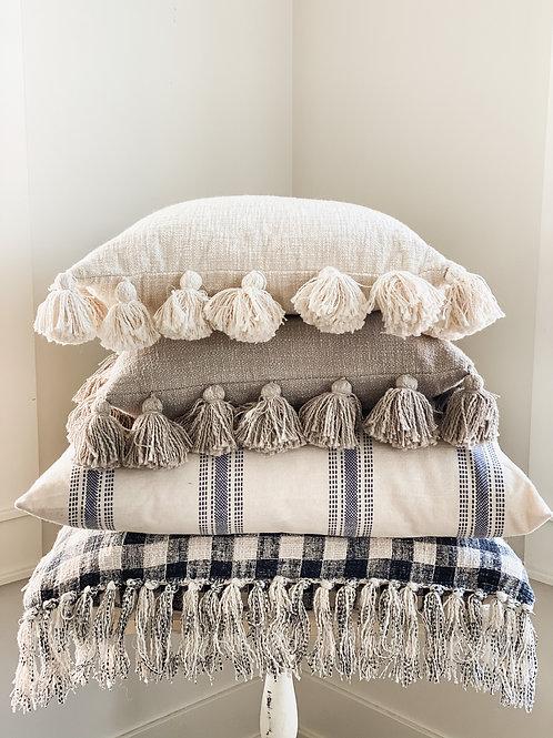 Ava Tassel Pillow