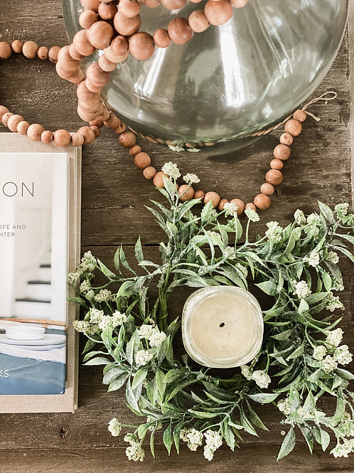 Bountiful Blooms Candle Ring