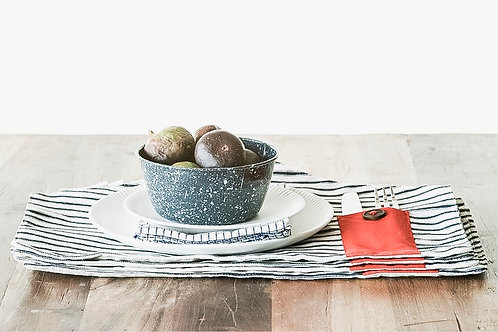 Striped House Placemats