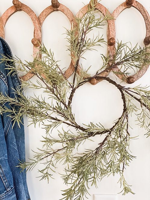 Icy Blade Pine Wreath
