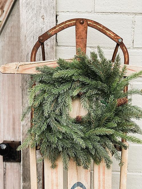 White Spruce Wreath