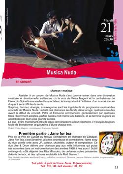 MUSICA NUDA + JFT 2017