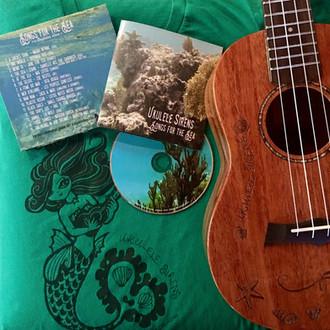"""SORTIE DE L'ALBUM DES UKULELE SIRENS """"SONGS FOR THE SEA"""" !"""