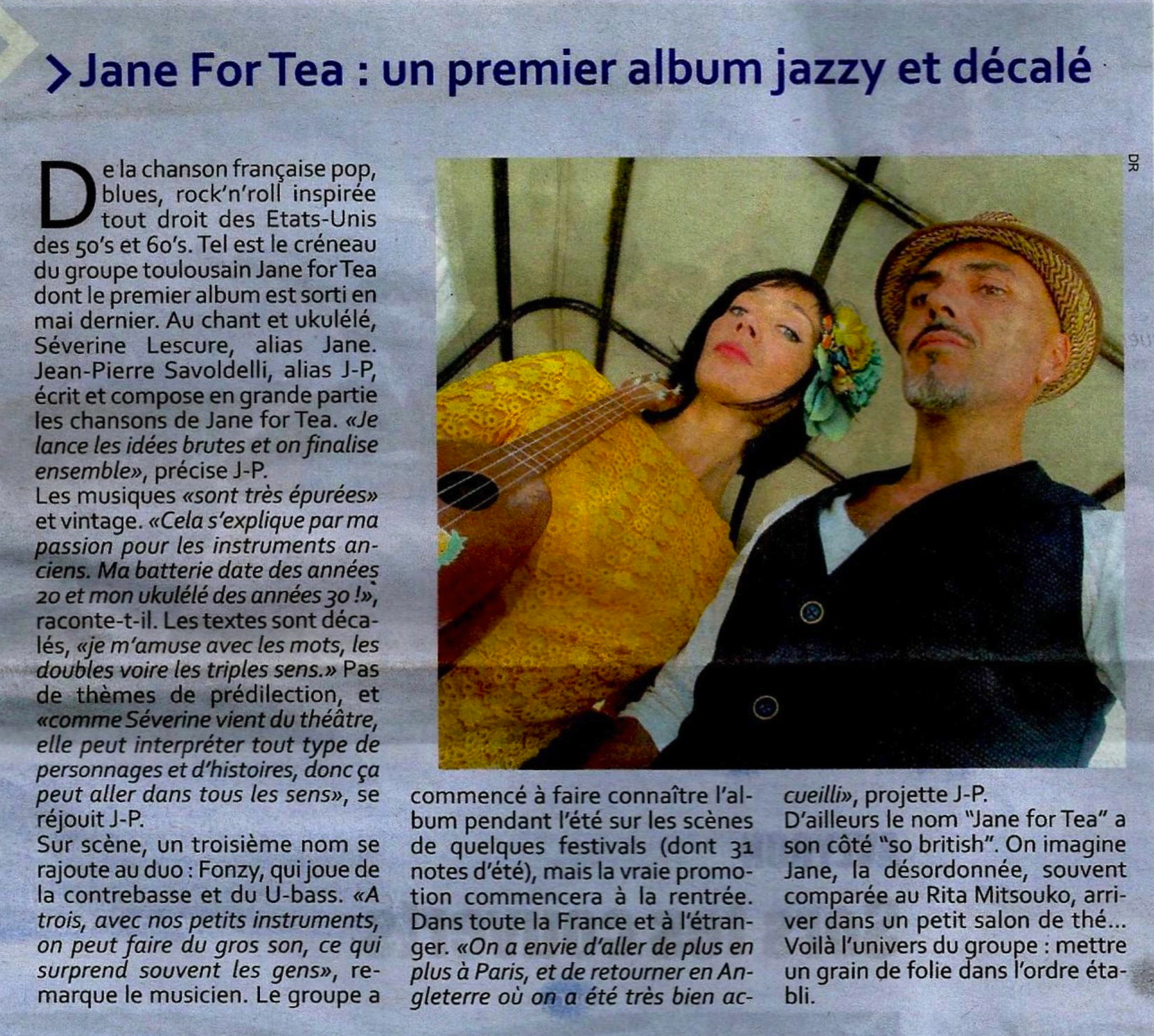 ALBUM JAZZY ET DECALE