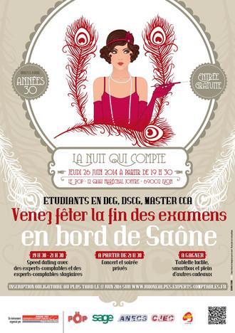 LA NUIT QUI COMPTE /  LE POP LYON 26 JUIN 2014