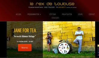 JANE FOR TEA + 1ERE PARTIE DE LAURENTIS AU REX DE TOULOUSE