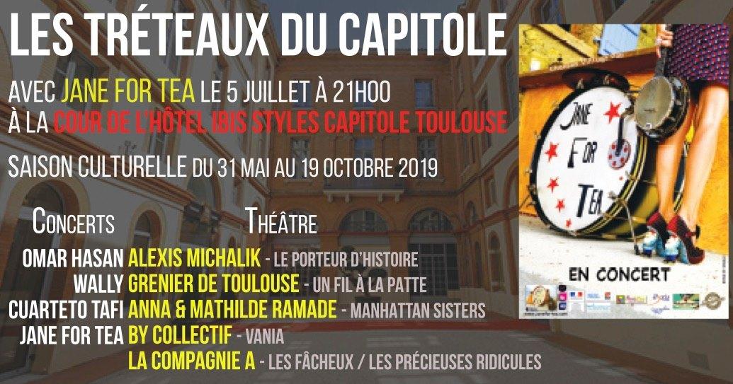 treteaux capitole 5 JUILLET 2019