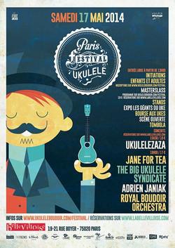 PARIS FESTIVAL UKULELE 17 MAI 2014