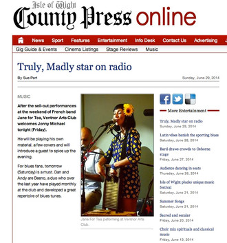 COUNTY PRESS ONLINE / ISLE OF WIGHT JUNE 29, 2014