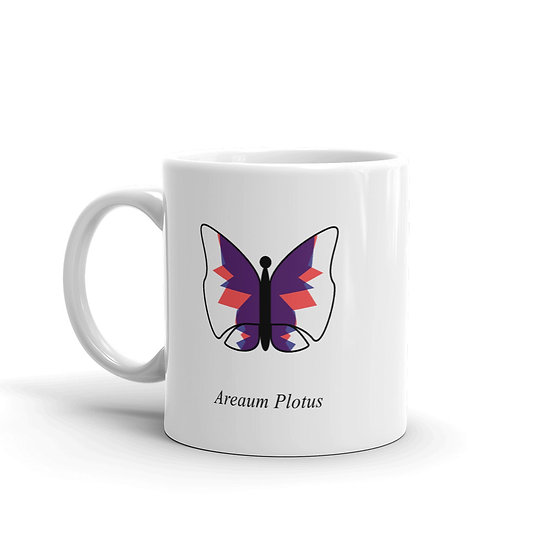 Datavizbutterfly - Areaum Plotus - Mug