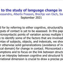New draft on change in contact