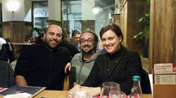 Discussing Barese in Bucharest