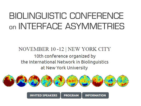 Biolinguistic Conference on Interface Asymmetries