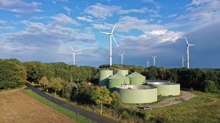 Unsere Biogasanlage