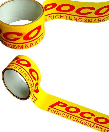 Līmlente ar logo; līmlenta ar druku; apdrukāta lente; drukāta līmlente; individuāla līmlente; uzdrukāta līmlente; nodrukāta līmlente