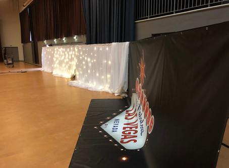 Logistique événementielle du gala de l'IUT Hubert-Curien
