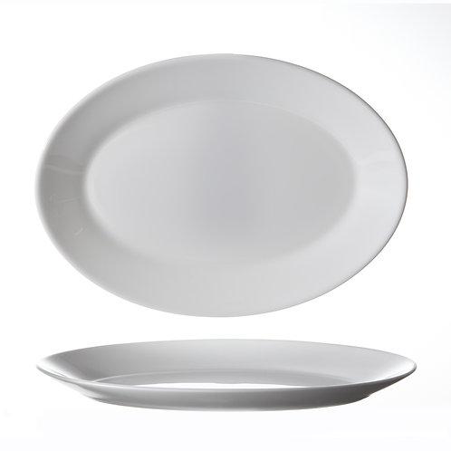 Assiette Ovale