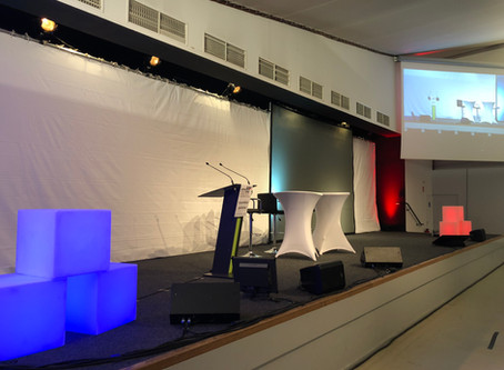 Régie audiovisuelle et scénique de l'assemblée générale 2018 des Maires des Vosges