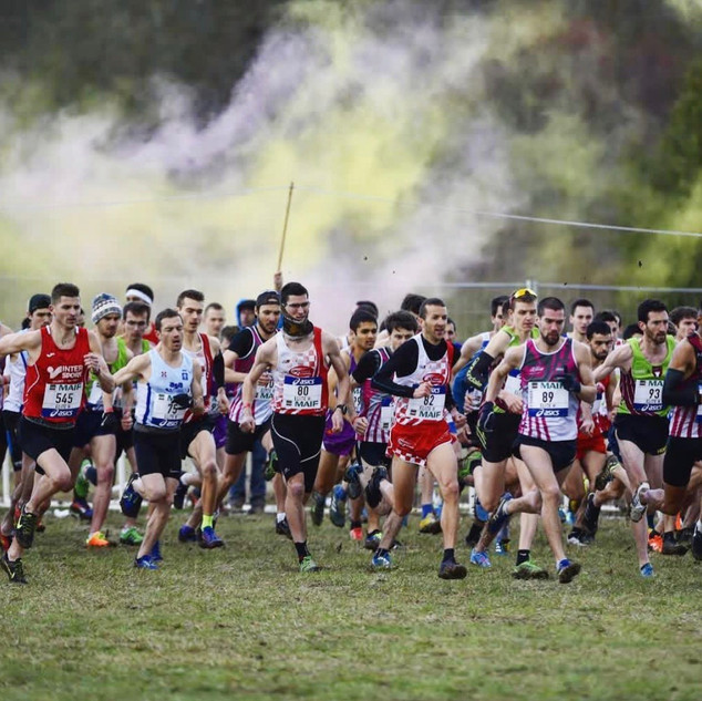 Départ Championnat de France Cross Country 2019 à Vittel