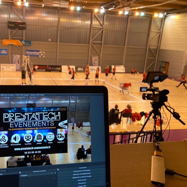 Retransmission Live - Match amical VNVB VS ASPTT Mulhouse au SAS volley Epinal