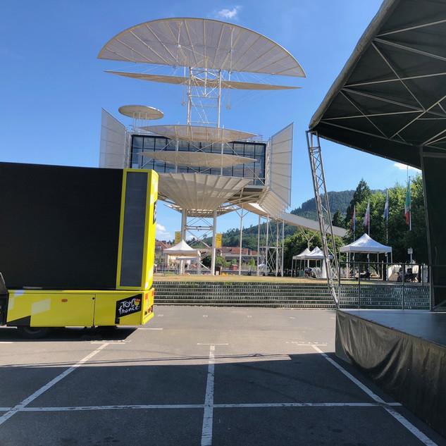 Tour de France 2019, à Saint-Dié-Des-Vosges