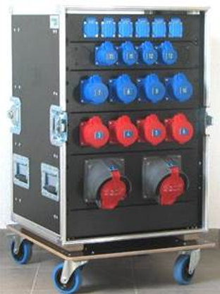 Armoire de distribution Tri 63A