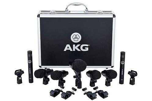 Kit 7 micros Batterie AKG