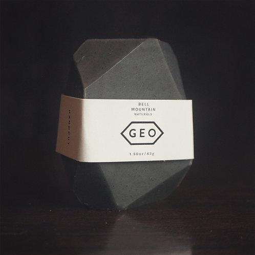 Black Geo Gem Soap