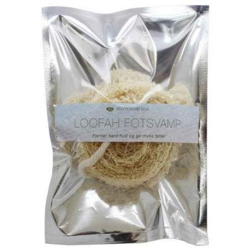 Loofah – Fotskrubb Fjerner døde hudceller og gir myke føtter
