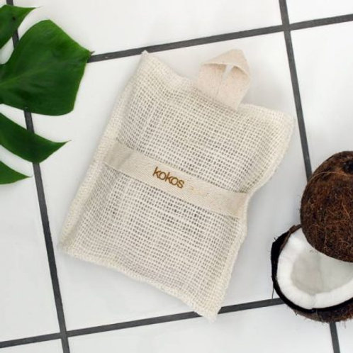 Spa vaskevott med mild såpe. - Kokos