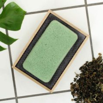Konjac - Vaskesvamp for kroppen- Grønn te