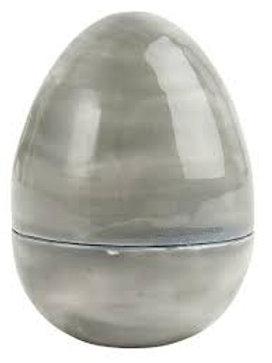 Påskeegg i metall som kan deles H: 8,3 Ø: 6,5