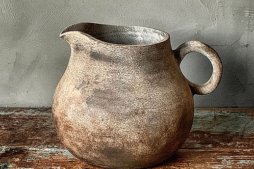 Kanne i keramikk - Brun