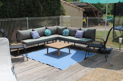 Deck and seating