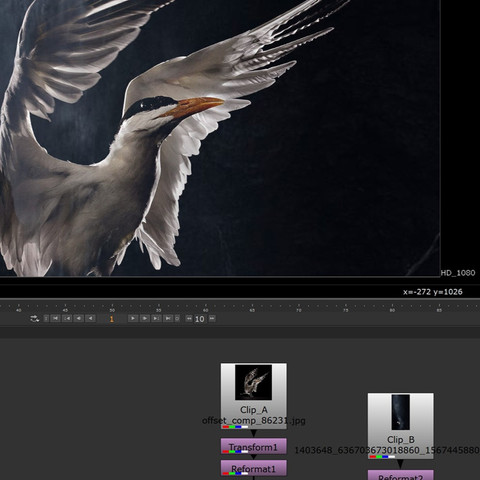 AFTER EFFECTS LAYERING IN NUKE