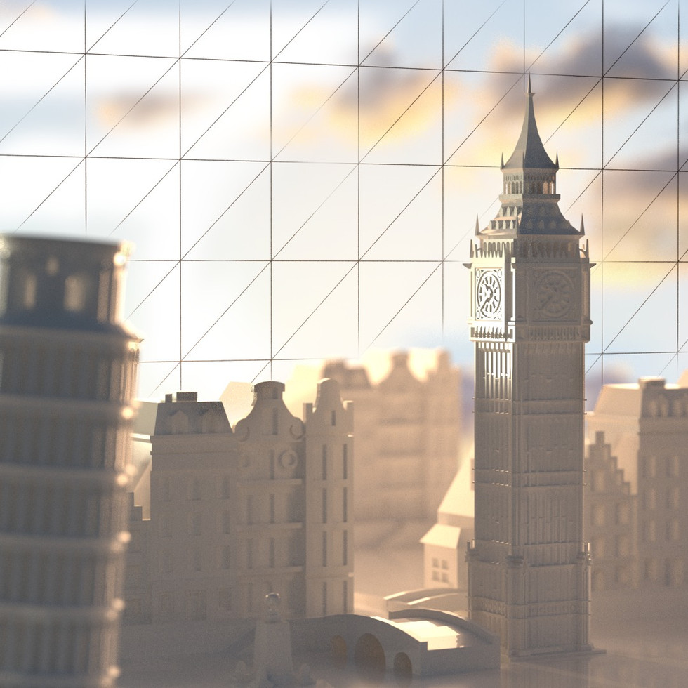 RECREATE A C4D BACKGROUND OBJECT