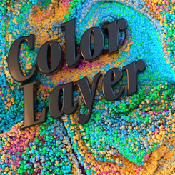 LAYERING IMAGES WITH THE COLOR LAYER